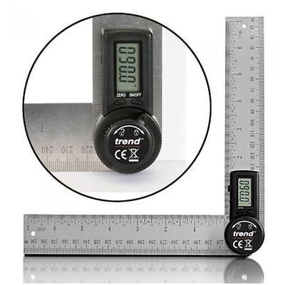 TREND Folding Digital Angle Finder Ruler 400mm (2x200mm) 360° Protractor DAR/200