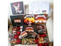 Master of Puppets - Metallica - Limited Edition GIANT boxed set - CD, Tape, Vinyl, Books etc - MINT