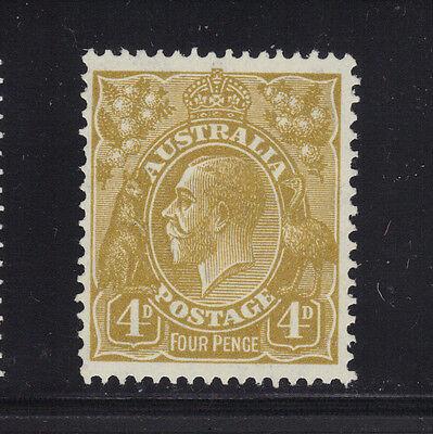 Australia Sc# 118 Mint Hinged Stamp - Sound