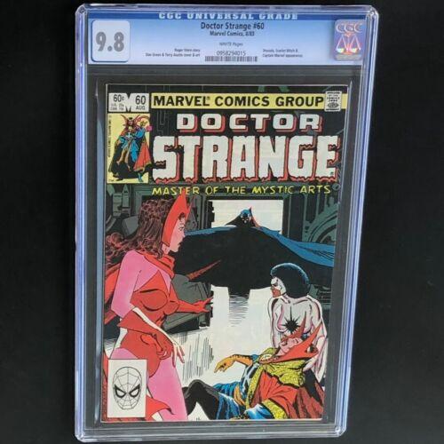 Doctor Strange #60 🔥 CGC 9.8 🔥 Dracula Scarlet Witch & Captain Marvel! Dr 1983