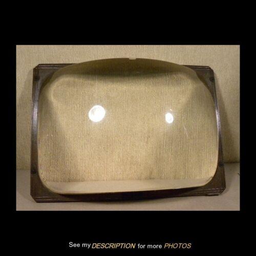Vintage 1940-50s Television Magnifier Liquid Filled