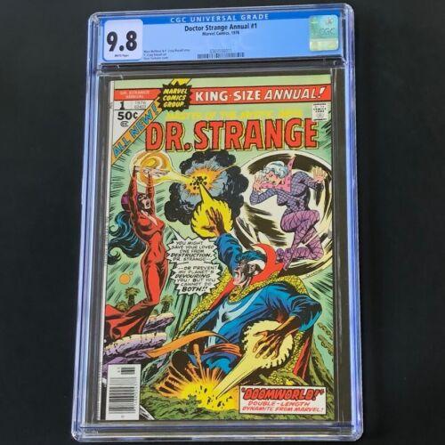 Doctor Strange Annual #1 (1976) 💥 CGC 9.8 💥 HIGHEST GRADED 1 of 25! Marvel Dr.