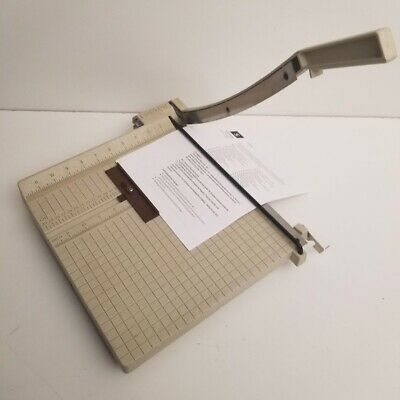 Boston Professional Style Guillotine Paper Cutter Photo Card Stock Trimmer
