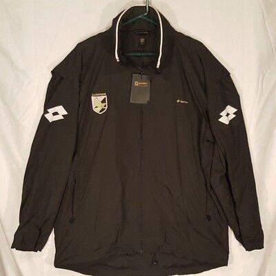 Rare Lotto Palermo Calcio Soccer Players Jacket Mens Sz L U S  Citt