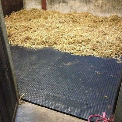 *2 Mat Special Offer* 2 X Stable Horse Floor Matting EVA 24mm Eva Cushioned Mats