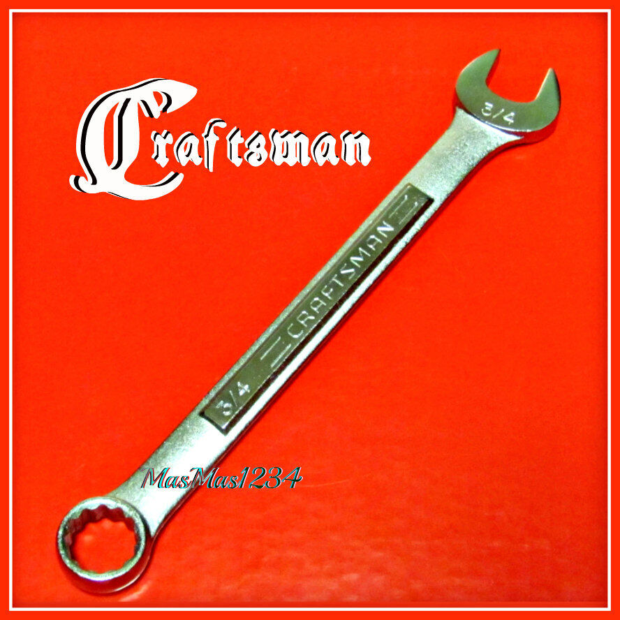 CRAFTSMAN Combination Wrench - SAE Inch Metric MM 12 Point -