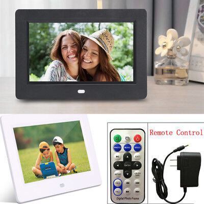 "7""inch HD TFT Digital Photo Picture Frame Movie MP3/4 Player With Remote Control"