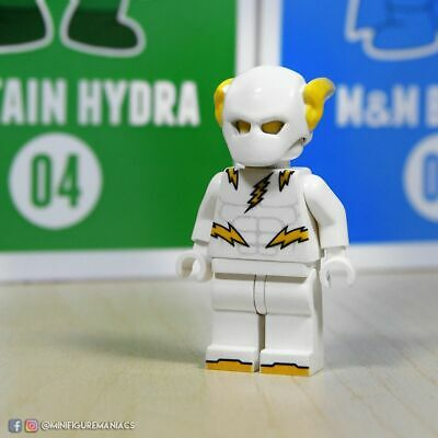 CUSTOM LEGO MINIFIGURE || Godspeed inspired by DC The Flash