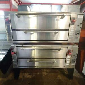 Garland GPD48 Natural Gas Pizza Ovens