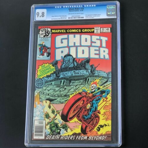 Ghost Rider #33 (1978) 💥 CGC 9.8 💥 HIGHEST GRADED - 1 of 15! Marvel Comic