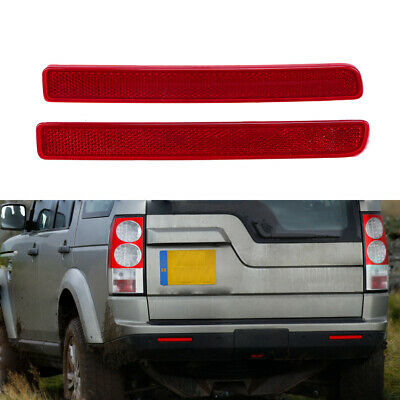 XFF500030 Heart Horse Bumper Reflector for Land Rover for Discovery LR3 LR4 Range Rover Sport XFF500020
