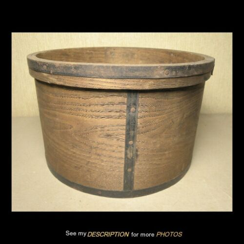Antique Large Primitive Grain Measure Pantry Box circa 1800s