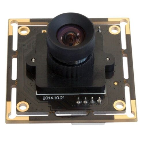 Android/Linux/Windows CMOS Camera Module Board UVC 5MP Webcam Video w/ 12mm Lens