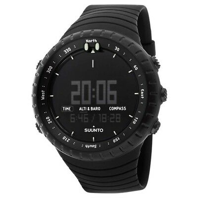 NEW Suunto Core All Black Military Digital Watch - SS014279010