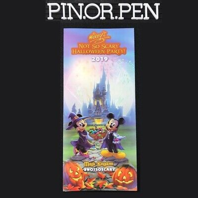 Disney Halloween Time 2019 (2019 MNSSHP Event & Park Map Plus Time Guide Mickeys Halloween Party Disney)