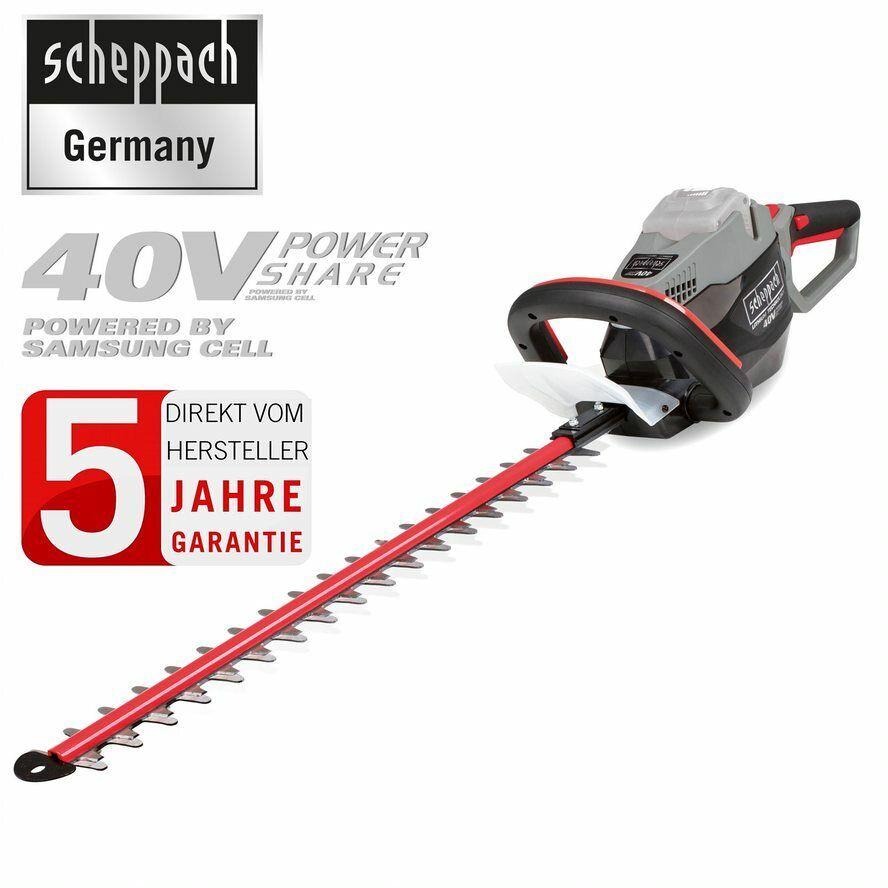 scheppach 40V Akku Heckenschere Heckenschneider Stauchschere Trimmer BHT560-40Li