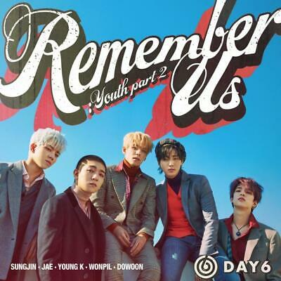 DAY6 - Remember Us : Youth Part 2 (4th Mini Album)+80p Photobook+Photocards