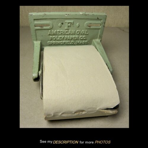 Antique Bathroom Wall Mount Cast Iron Toilet Paper Holder Foley Paper Co