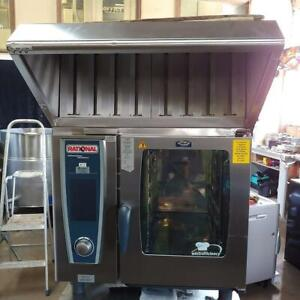 Rational 61 Electric Combi Oven w/ Hood System