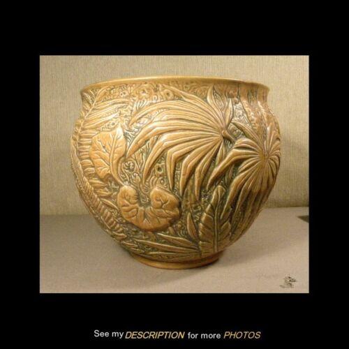 Antique Large Weller Art Pottery Jardiniere Marvo Pattern