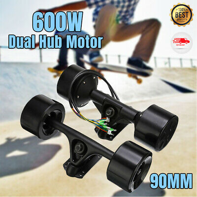 US Powered Dual 6364 Hub Motor Drive Kit For DIY Electric Skateboard Longboard