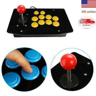 Arcade Joystick Part 10 Buttons Fighting Stick Gaming Controller US