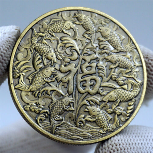 2021 NEW YEAR Chinese Feng Shui Happiness Luckly Fortune Wish coin Gfit