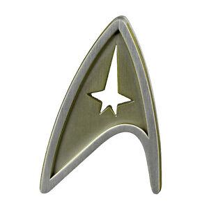 Metall Abzeichen Starfleet Division Badge - Command Kirk Star Trek Beyond