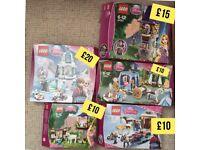 Disney Princess Lego sets