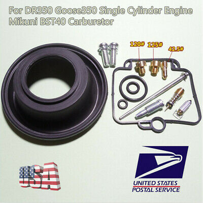 Carburetor Repair kit For DR350 Goose350 Single Cylinder Engine Mikuni BST40
