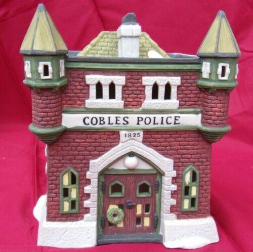 Dept 56 Cobles Police Station Dickens Village Series Heritage Village 1989