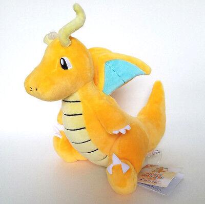 "Japanese Pokemon 9"" Dragonite plush doll Sanei All-Star Allstar super soft"