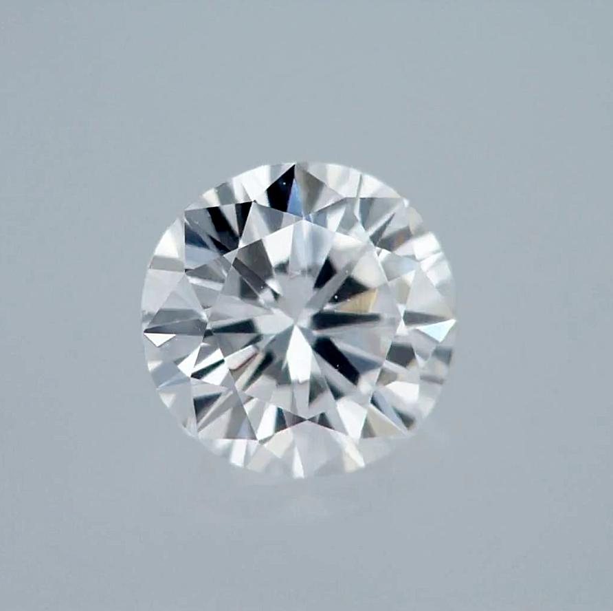 Round Cut Natural Loose Diamond 100% Real 0.30 Carat D VS1 GIA Cert Cut Good