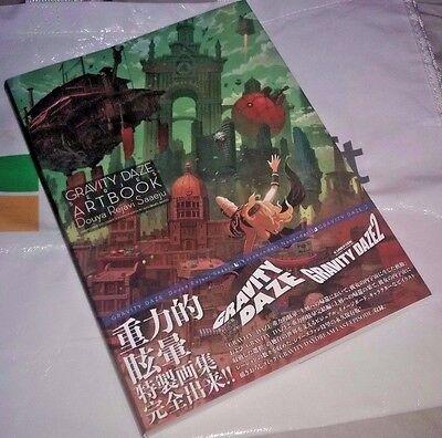 Gravity Daze Gravity Rush Series Official Art Book   Duoy Rayavi Sueju Collector