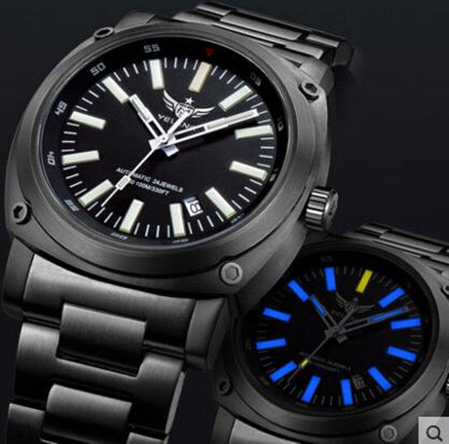 Наручные часы Yelang Men Tritium T100 Watch Automatic Japan 24Jewels  Military Titanium Alloy - 322012861263 - купить на eBay.com (США) с  доставкой в Украину ... 6a918797ce6e1