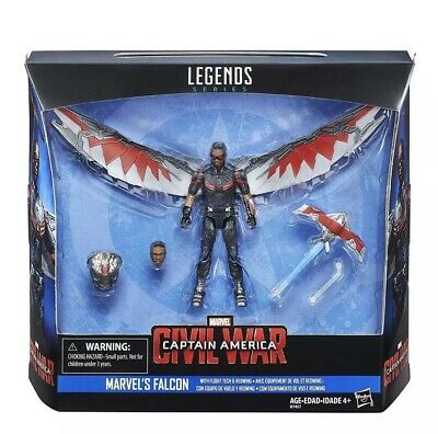 "Captain America 3.75"" Legends Figure & Vehicle - Marvel's Falcon.    [BRAND NEW]"