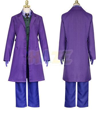Movie Batman The Dark Knight Joker Cosplay Costume - The Dark Knight Joker Outfit