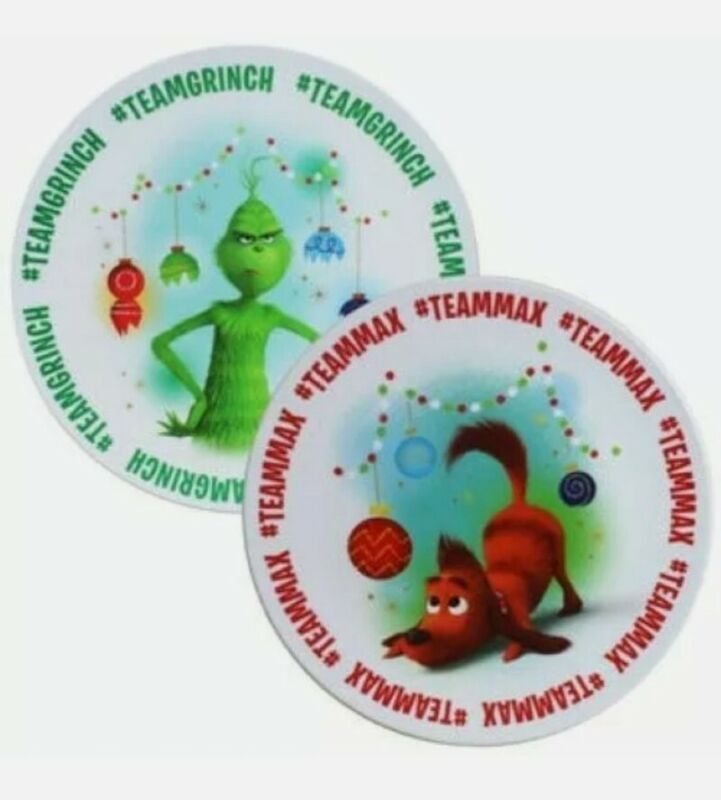 Dr. Seuss The Grinch Stole Christmas Plate Gift Set Holiday BPA-Free Free Ship