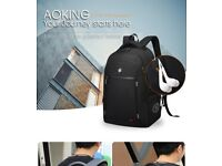High quality men's bag with usb charging port and earphone port (Brand new with tags)