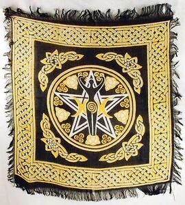 Pentagram Goddess Altar/Tarot Cloth 18