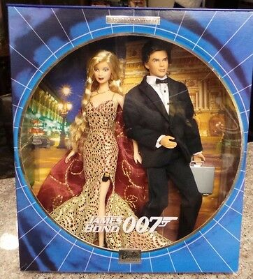 James Bond 007 Ken And Barbie Giftset 2002