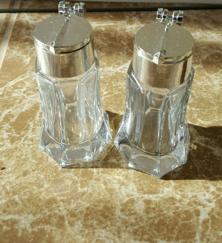 Vintage 70s collection of salt & pepper shaker. Made in Germany, THIECO lot of 6