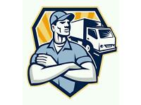 Man and van . Deliveries , collections , full house removals