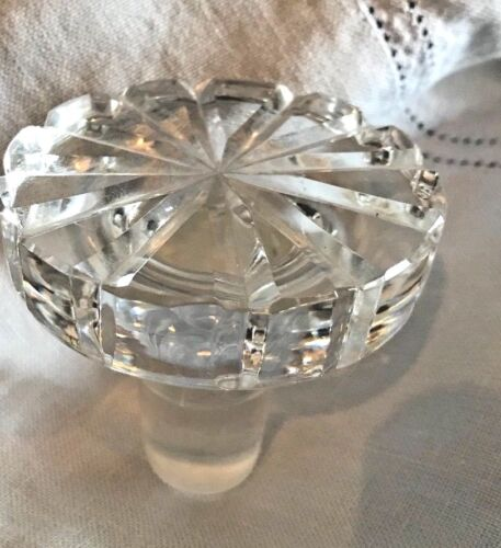 Vintage Crystal Glass Stopper