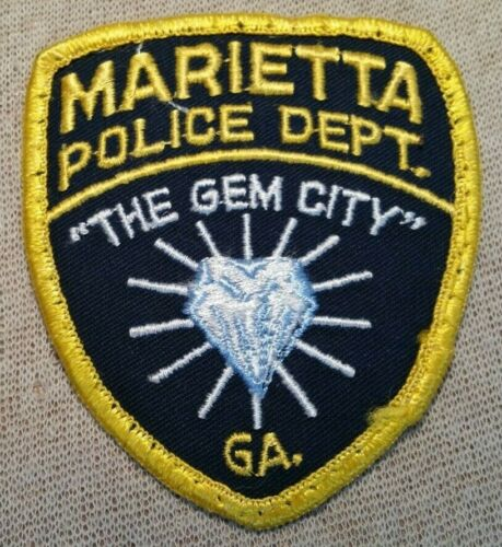 GA Marietta Georgia Police Patch