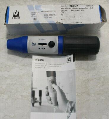 Brandtech 26202 Macro Pipette Controller Blue