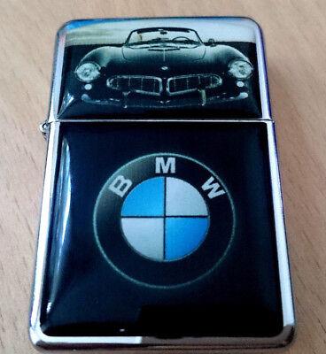 BMW SPORTS CAR STAR LIGHTER RACE F1 EMBLEM M SUPER GERMANY &EXTRA ZIPPO FLINTS ()
