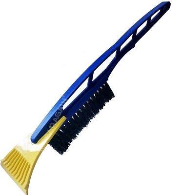 Universal Blue Windscreen Snow Removal Ice Brush Van Scraper Shovel Long Handle