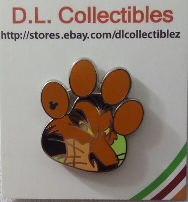 - Disney Lion King Hidden Mickey Paw Prints Scar Pin