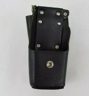 Motorola Radio Leather Police Duty Belt Holster